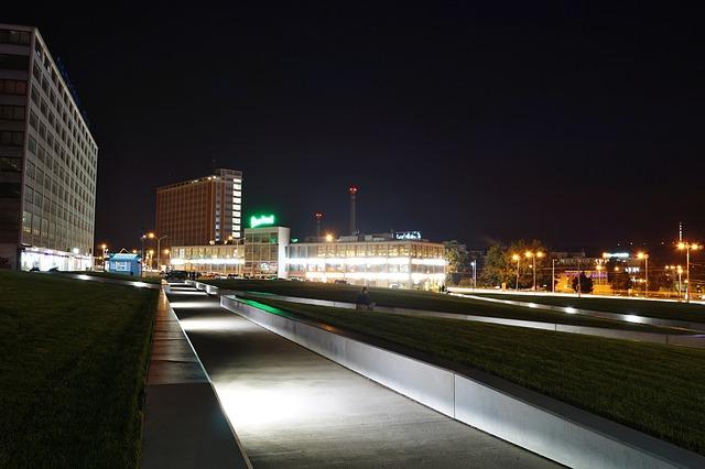 noční část města