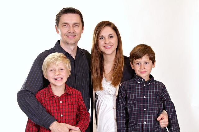 synové s rodiči