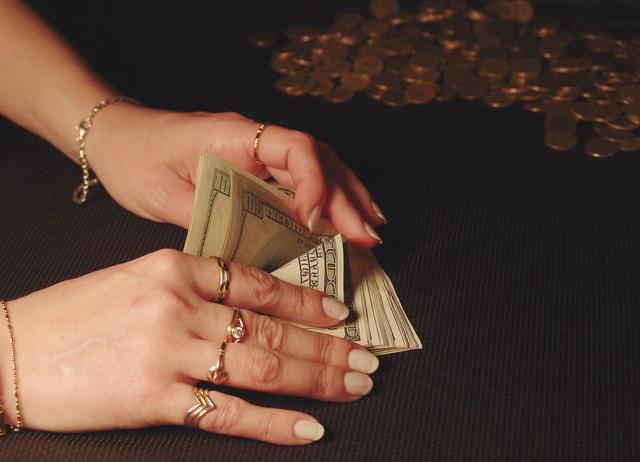 počítámí peněz