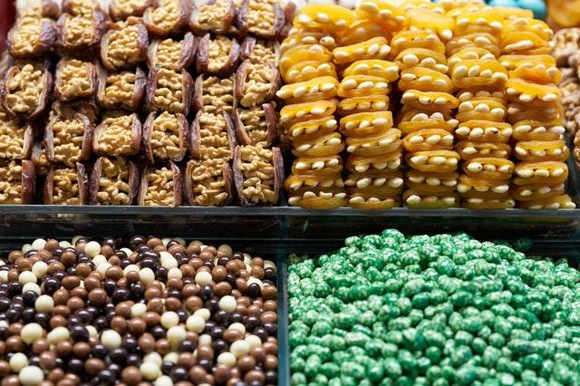 sladkosti, cukrovinky